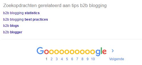 b2b blog alternatieven