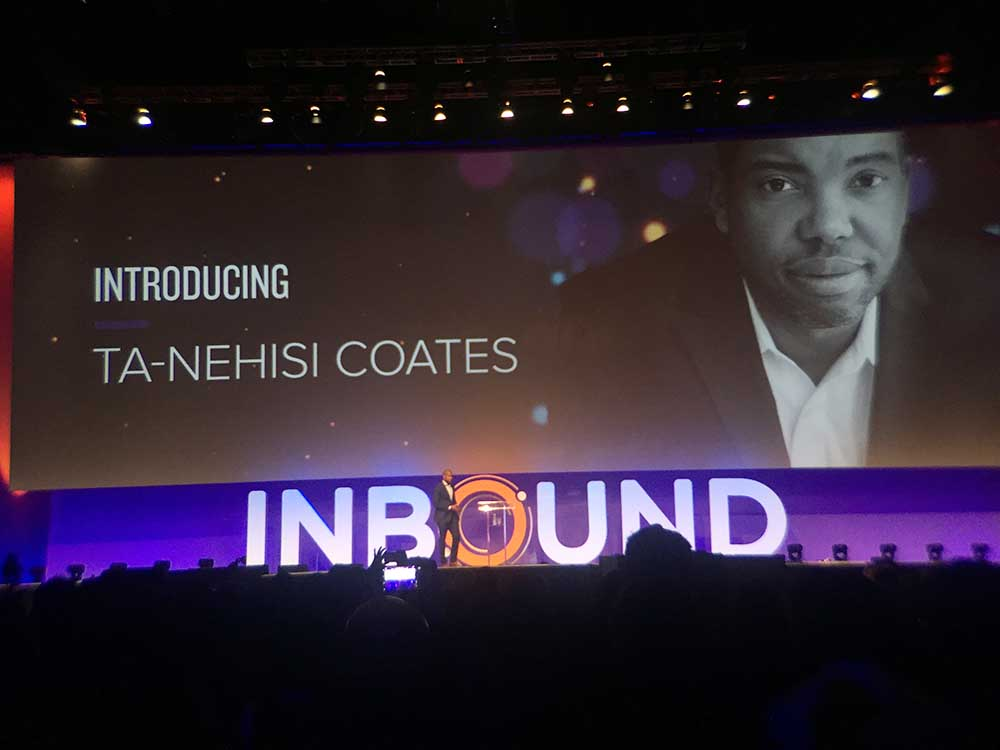 Ta Nehisi Coates on inbound 1
