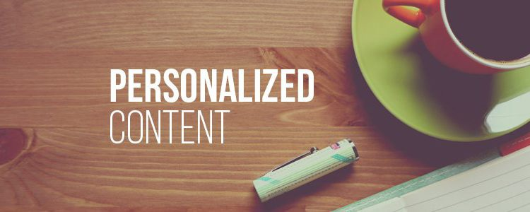 Gepersonaliseerde content marketing