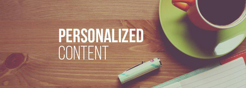 Gepersonaliseerde content marketing