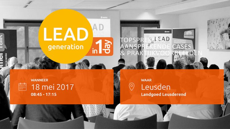 Leadgeneratie in 1 dag 2017 b2b