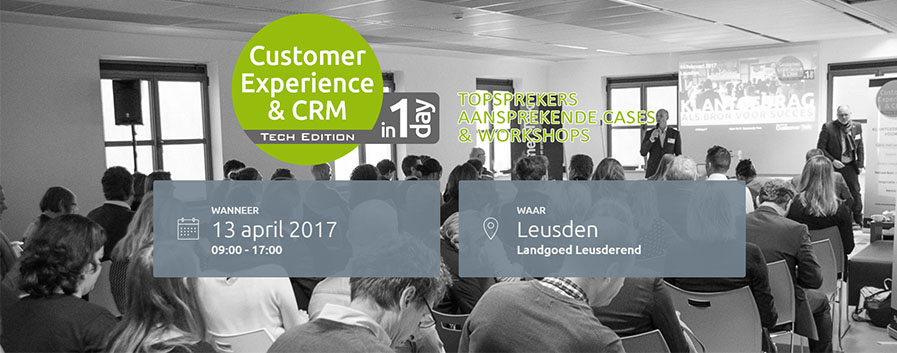 crm en cx in 1 day tech edition 2017