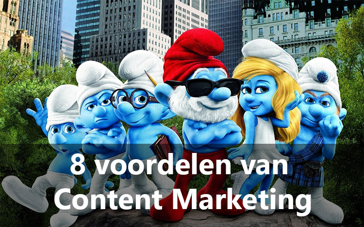 voordelen content marketing smurfen 2