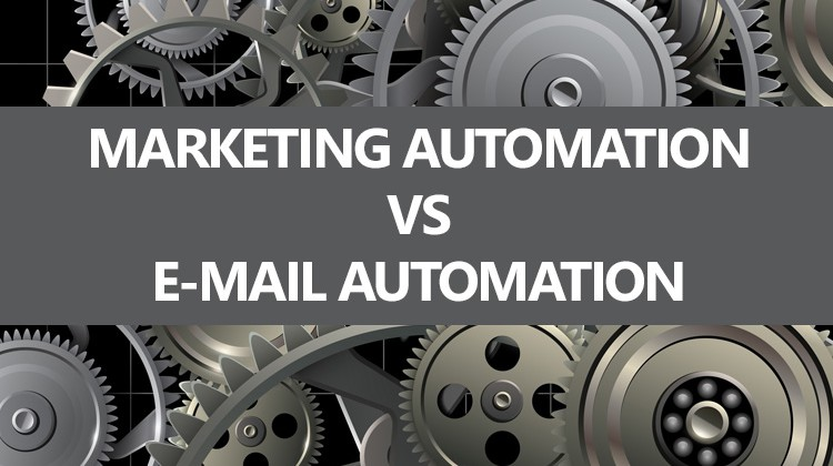 Marketing Automation vs Email Automation