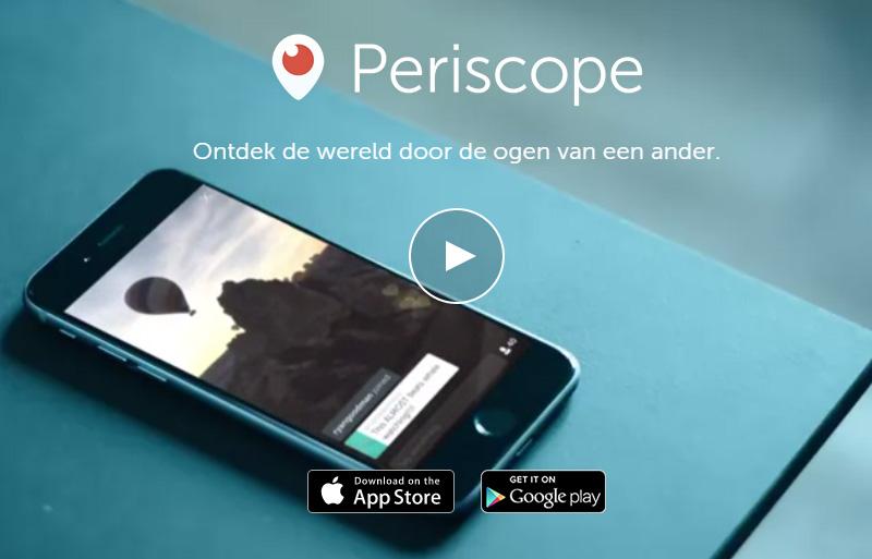 Periscope meerkat b2b