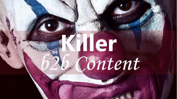 b2b content that kills