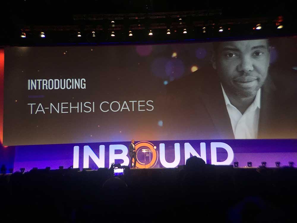 Ta Nehisi Coates on inbound 1