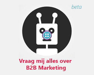 De eerste B2B Marketing Chatbot ter wereld!