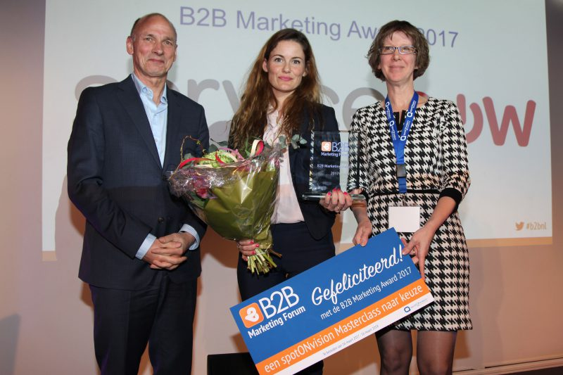 b2b marketing award 2017 foto