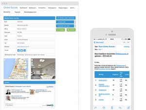 online succes screenshot