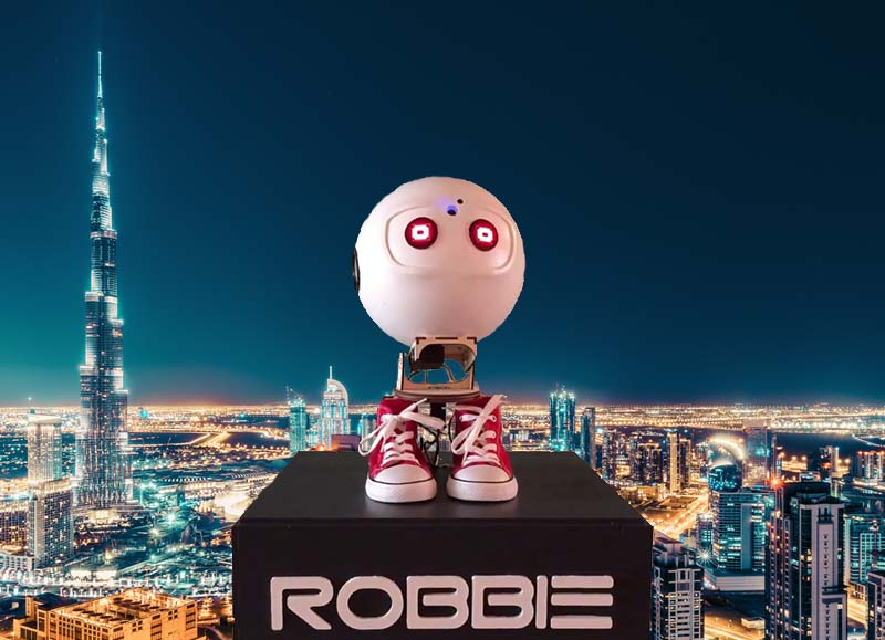 AI in b2b Robbie Colours