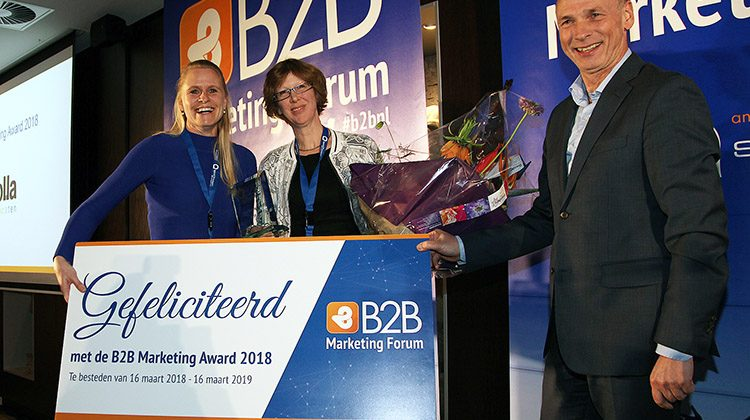 b2b marketing award winnar 2018