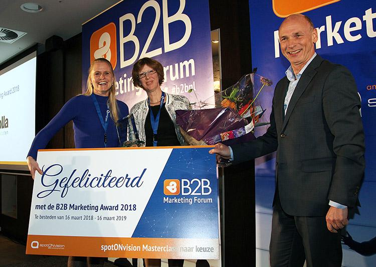 b2b marketing award winnar 2018