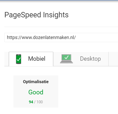 seo tooltip pagespeed insights