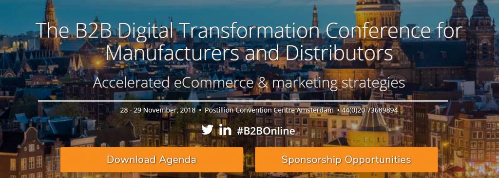 B2B Digitale Transformation Converence B2B Online Europe 2018