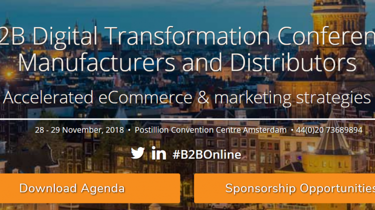 B2B Digitale Transformation Converence B2B Online Europe 2018