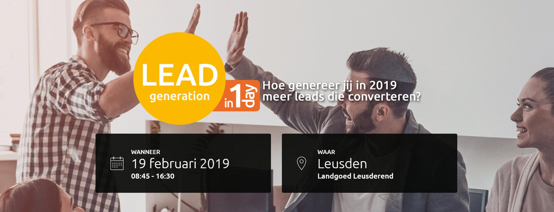 b2b leadgeneratie banner 2019