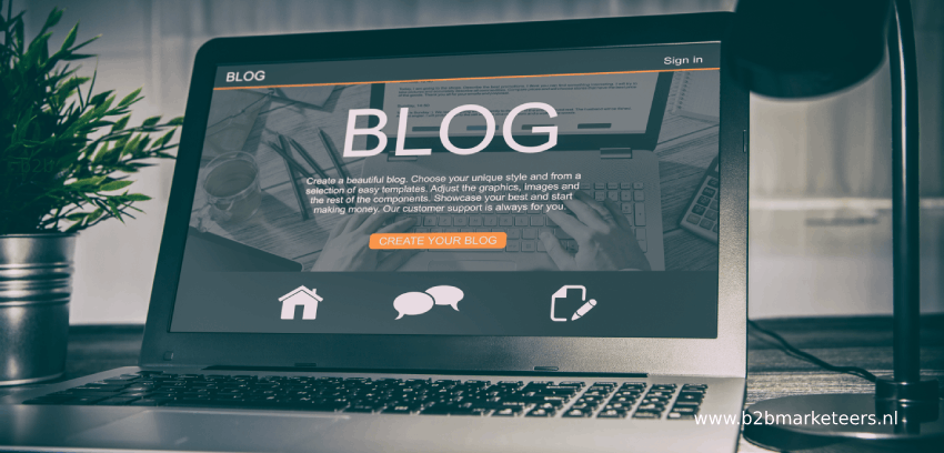 zakelijk bloggen b2b