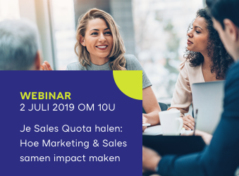 Webinar Sales en Marketing