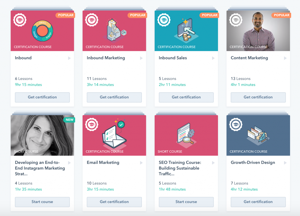 b2b content marketing voorbeeld - hubspot
