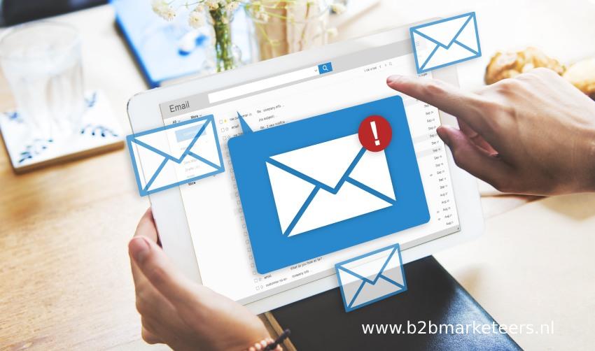 Online Mailings in b2b