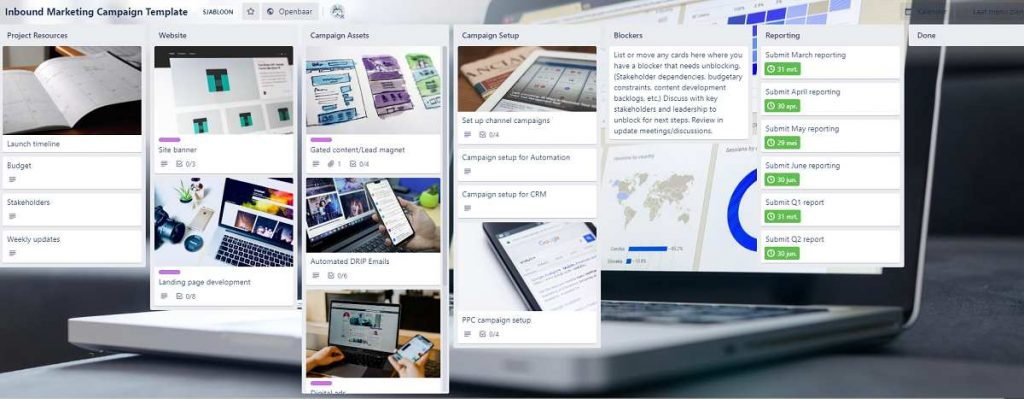 trello marketing projectmanagement software