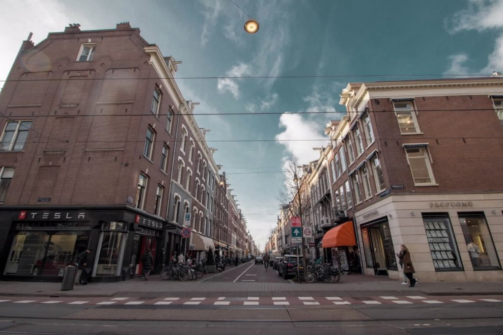 Gevelreclame b2b shop amsterdam